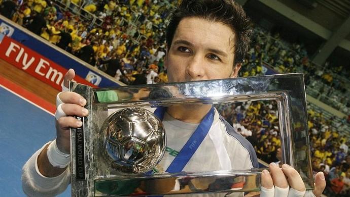 Franklin Brasil futsal 2008 (Foto: Divulgação/Fifa)