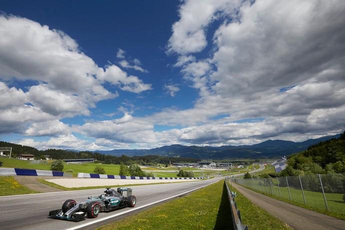 Nico Rosberg - Mercedes - Áustria (Foto: Divulgação/Mercedes)