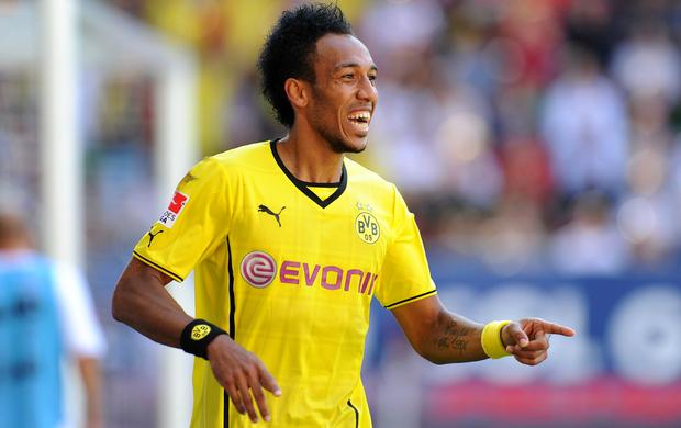 Pierre-Emerick Aubameyang Borussia Dortmund (Foto: Divulgação / Facebook)