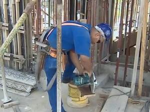 Setor da construção civil cresce mais de 19% no Oeste Paulista (Foto: Reprodução/TV Fronteira)