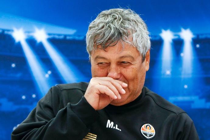 Mircea Lucescu técnico Shakhtar (Foto: Reuters)
