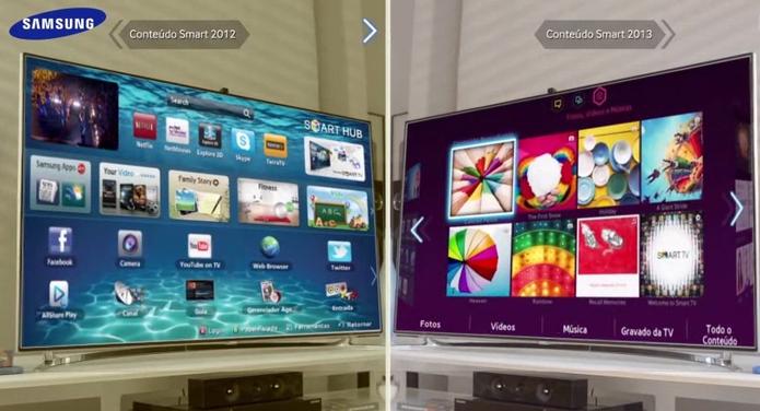 Sistema sempre atualizado com o melhor conteúdo para o usuário (Foto: Divulgação/Samsung)