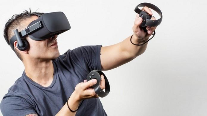Oculus Rift precisa de computador potente para funcionar (Foto   Divulgação Oculus) 56a7ffcf17
