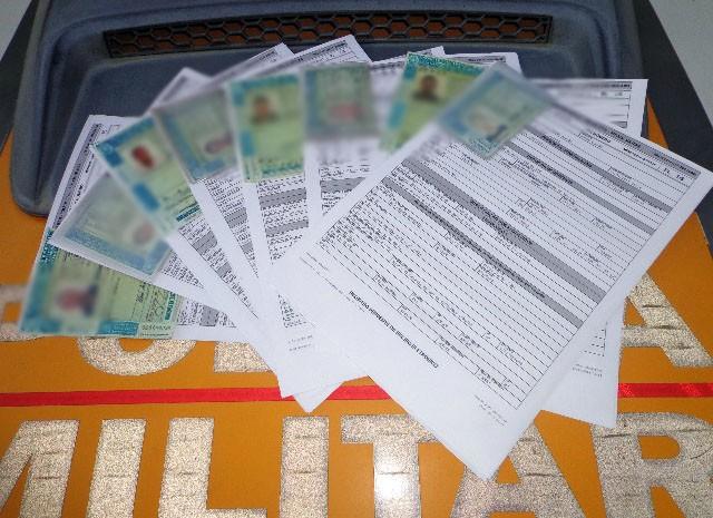 Nove pessoas foram multadas por dirigir embriagadas (Foto: Polícia Rodoviária Estadual / Pouso Alegre)