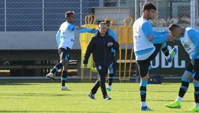 Rogério Dias Rogerinho Grêmio preparador físico (Foto: Eduardo Moura/Globoesporte.com)