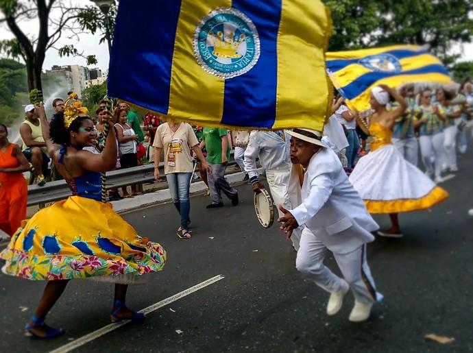 A Unidos de Itapuã trabalha busca a origem da cultura do samba (Foto: Div./Luiz Hohenfeld)