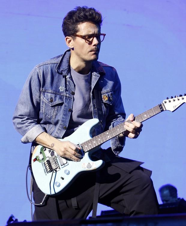 John Mayer em show no Rio de Janeiro (Foto: Thyago Andrade/Brazil News)