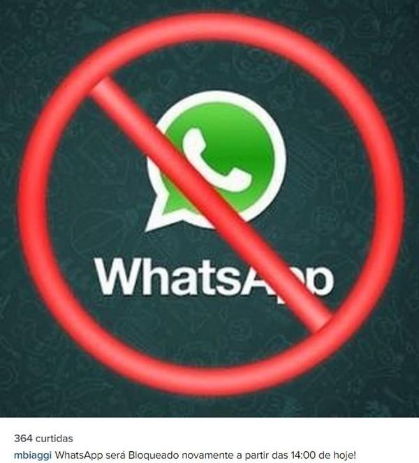 Bloqueio do WhatsApp no Brasil: famosos comentam nas redes sociais