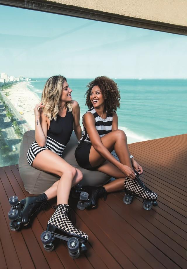 Giovanna Ewbank e Sheron Menezzes (Foto: Lucas Landau/Arquivo Vogue )