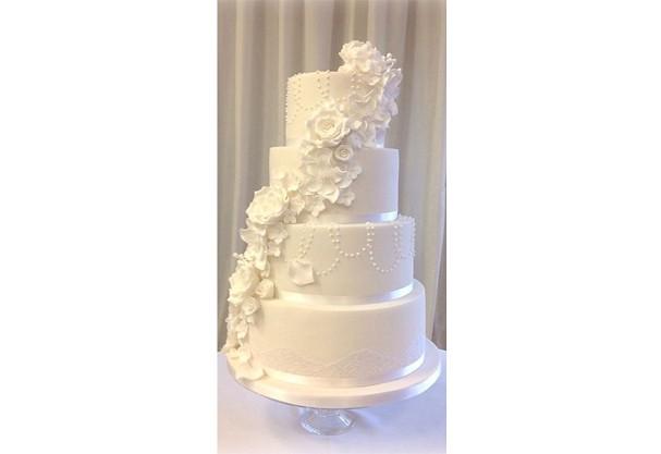 Bolo de casamento (Foto: Reprodução)