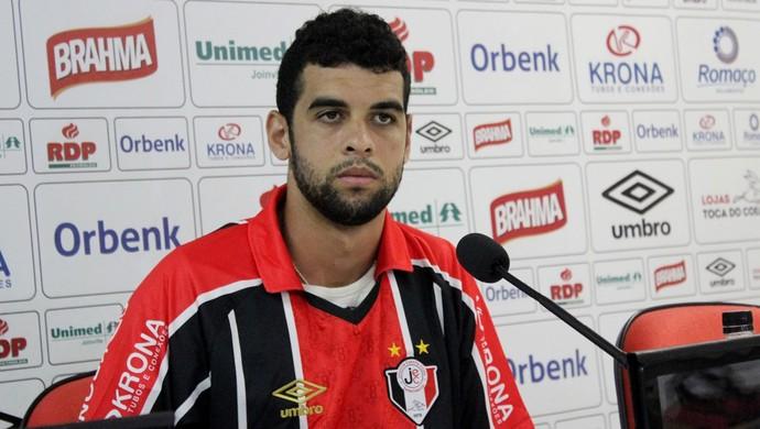 Alef Joinville (Foto: José Carlos Fornér/JEC)