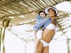 Dani Suzuki fala sobre sintonia com o filho: 'É o maior parceirão'