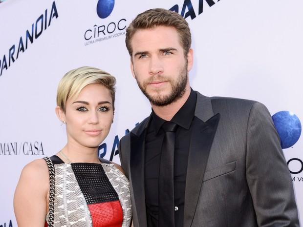 Segundo revista, Miley Cyrus e Liam Hemsworth esto esperando primeiro filho (Foto: Dan Steinberg/Invision/AP)