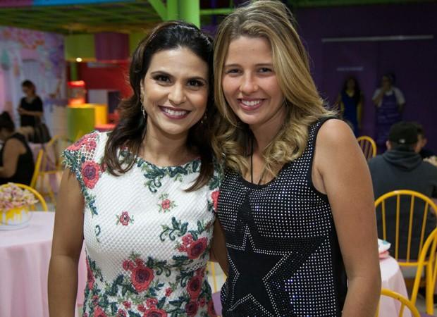 Aline BArros e De3bby Lagranha (Foto: Rafael Barros)
