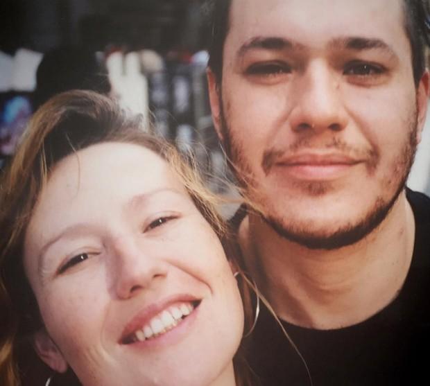 Chorão e Graziela (Foto: Reprodução/Instagram)