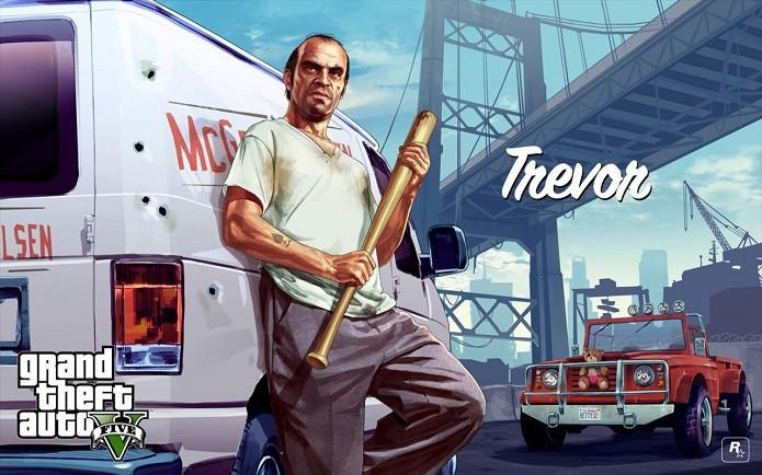 Até bastão de baseball tem no GTA V (Foto: Divulgação/Rockstar)