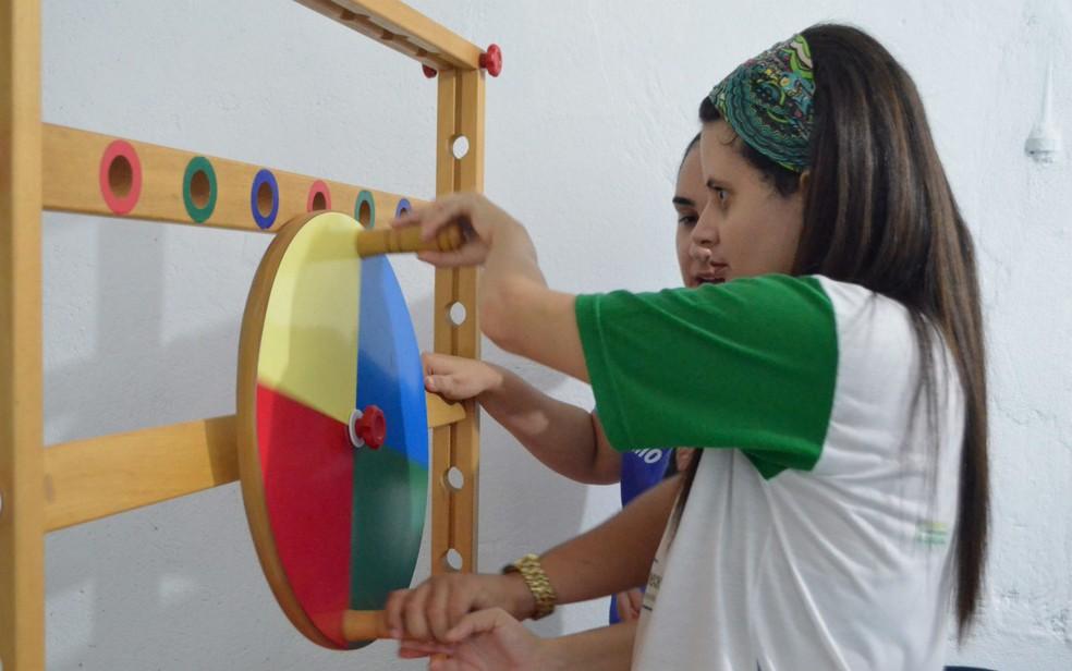 Associação pretende que centro especializado para pessoas com autismo seja criado em Santana, no Amapá (Foto: Fabiana Figueiredo/G1)