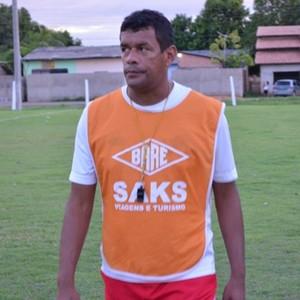 Técnico do Baré, Cláudio Marcos (Foto: GloboEsporte.com)