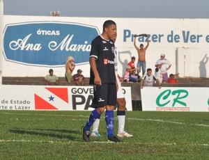 Zagueiro Perema briga por uma vaga (Foto: Arquivo pessoal)