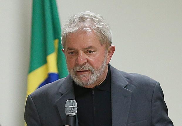 O ex-presidente Luiz Inácio Lula da Silva, se reúne, com as bancadas do PT no Senado e na Câmara dos Deputados (Foto: Ricardo Stuckert/Instituto Lula)