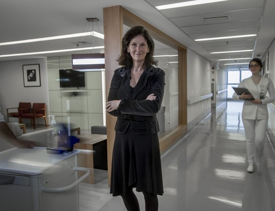 Vivien Rosso, CEO do AC Camargo Cancer Center (Foto: Rogerio Albuquerque/Editora Globo )