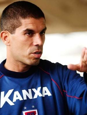 Ricardinho técnico Paraná Clube (Foto: Marcos Ribolli / Globoesporte.com)
