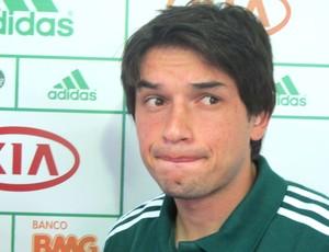 Apresentação Tiago Real, Palmeiras (Foto: Marcos Guerra / Globoesporte.com)
