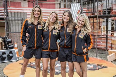 Daniella Cicarelli, Gabriela Pugliesi, Maria Joana e Louise D'Tuani (Foto: João Cotta/TV Globo)