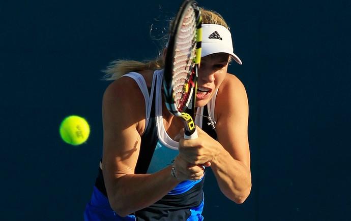 tênis Caroline Wozniacki WTA de Sydney (Foto: Agência AP)