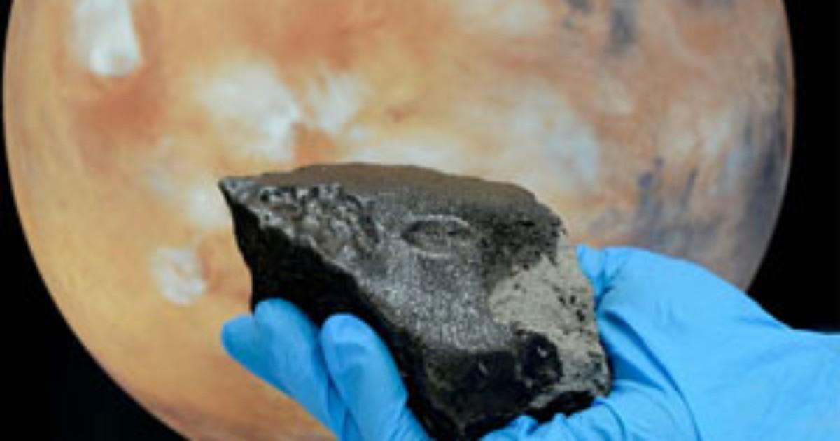 Geólogos chineses acham material orgânico em meteorito de Marte