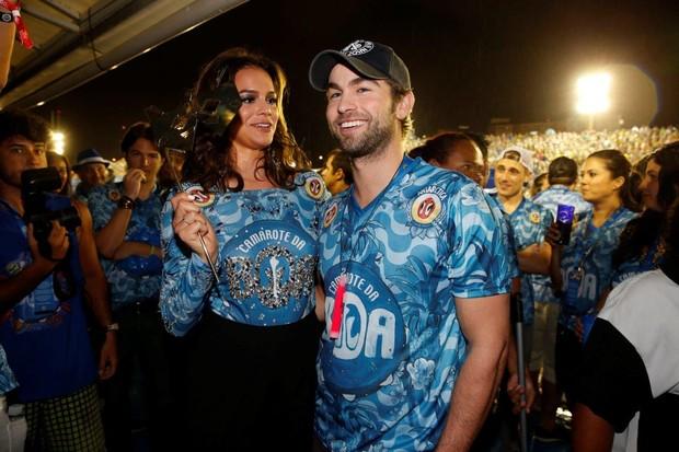 Bruna Marquezine e Chace Crawford (Foto: Felipe Panfili e Marcello Sá Barreto / AgNews)