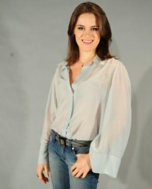 A sorocabana Alessandra Maestrini está na série 'Correio Feminino' (Foto: João Cotta / Rede Globo)
