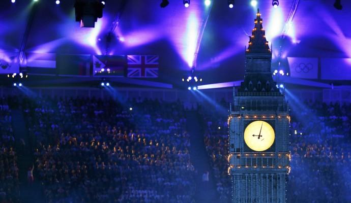 Big Ben, Encerramento Londres (Foto: Agência Reuters)