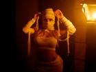 Jéssica Lopes vira múmia sexy para entrar no clima do Dia das Bruxas