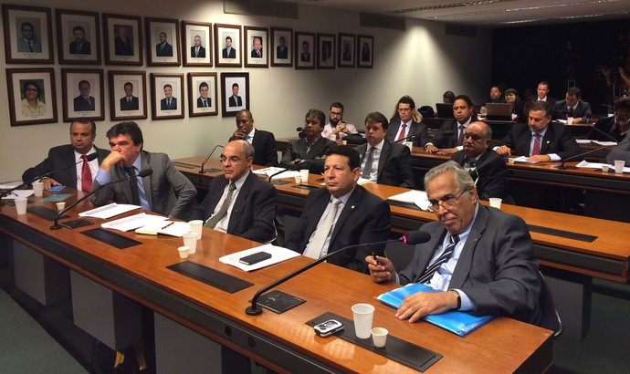 Reunião da LRFE na Câmara dos Deputados (Foto: Fabrício Marques)