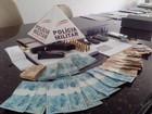PM apreende mais de R$ 8 mil em casa de suspeito de tráfico de drogas