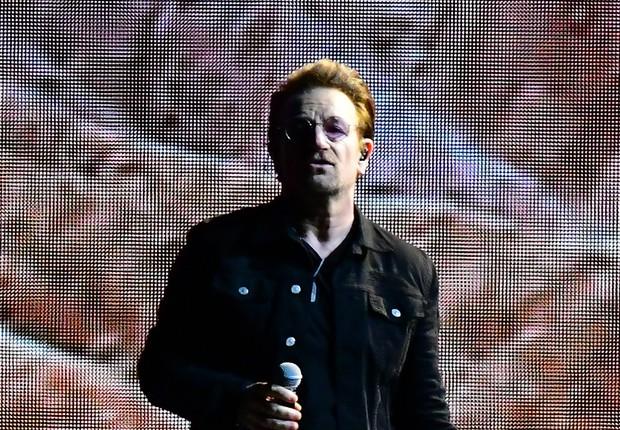 Bono Vox, do U2, foi