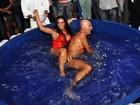 Solange Gomes esclarece polêmica sobre banheira: 'Era uma caixa d'água'