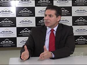 Presidente da Associação dos Magistrados do Maranhão Gervásio Protásio (Foto: Reprodução/TV Mirante)