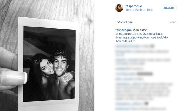 Felipe Roque (Foto: Reprodução / Instagram)