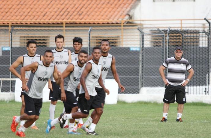 Treino do Treze, treze (Foto: Julio Cezar Peres / Jornal da Paraíba)