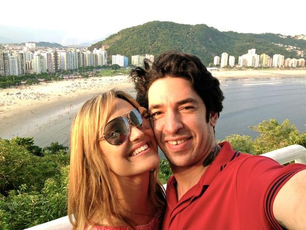 Champignon e Claudia Campos (Foto: Facebook/Reprodução)