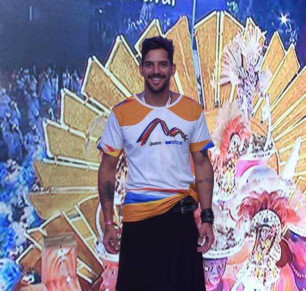 Felipe Pezzoni, da Banda Eva (Foto: Renato Wrobel/ Ed. Globo)