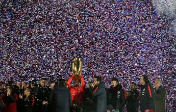Com apenas seis campeões, Chile festeja o título da Copa América