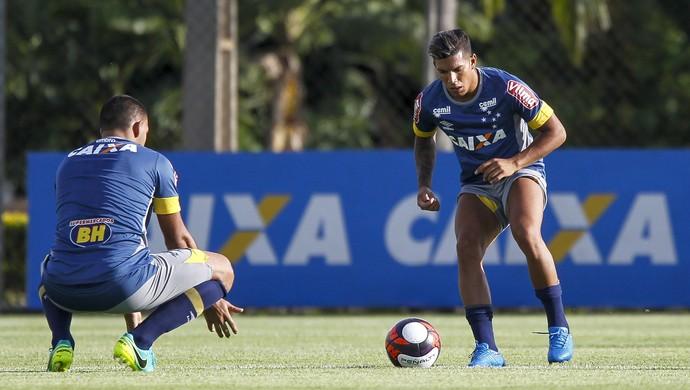 Lucas Romero; Cruzeiro (Foto: Washington Alves/Light Press)