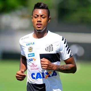 Bruno Henrique lamenta vaias da torcida do Santos