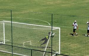 carlos germano e Martin Silva vasco treino Pinheiral (Foto: Raphael Zarko)