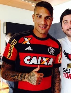 Guerrero, Flamengo (Foto: Divulgação / Flamengo)
