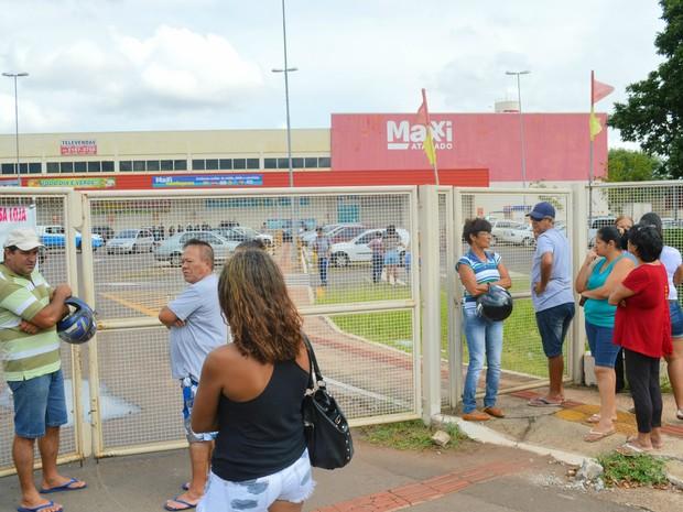 32a8d0d50 Loja do Maxxi Atacado na Vila Rica em Campo Grande encerrou as atividades  nesta terça-