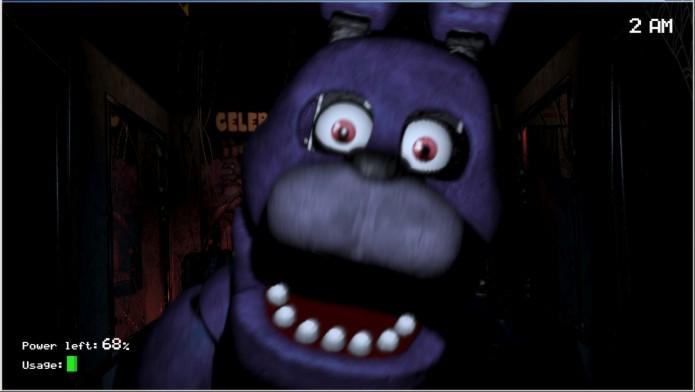 Five Nights at Freddys: jogo possui um bom desafio e sustos (Foto: Divulgação)